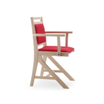 Leaning armchair for table 201_K1S