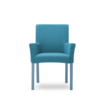 Tub chair with armrests fully upholstered 506_1S