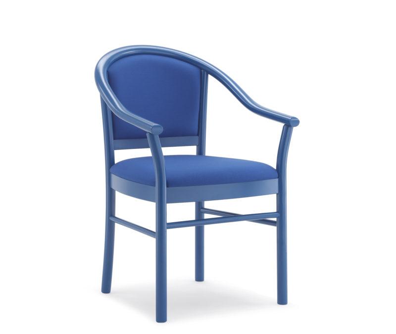 Poltroncina con sedile debordante 806