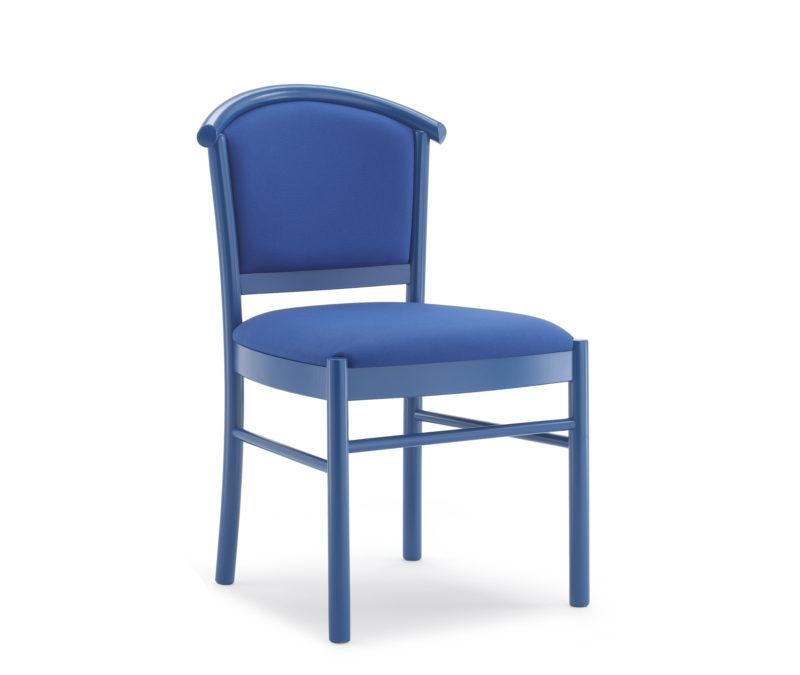 Sedia con sedile debordante 835